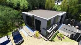 Casas de estilo moderno por Arquitectura Creativa