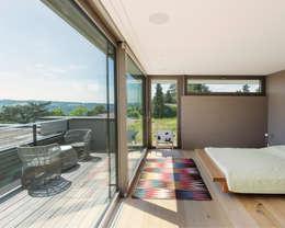 Habitaciones de estilo moderno por meier architekten