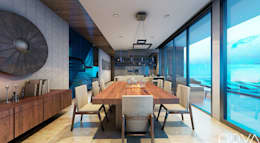 غرفة السفرة تنفيذ Nova Arquitectura