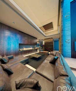 Salas de estilo moderno por Nova Arquitectura
