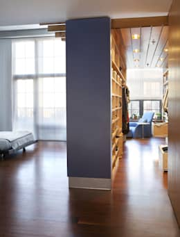 Adams Morgan Master Closet Lighting :  Corridor & hallway by Hinson Design Group