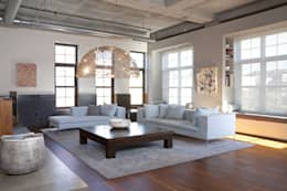 Adam Morgan Living Room Lighting : modern Living room by Hinson Design Group