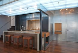 Adams Morgan Kitchen Lighting : modern Kitchen by Hinson Design Group