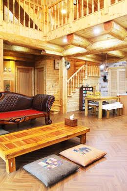 ห้องนั่งเล่น by 나무나라