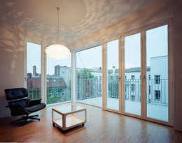 living room: modern Living room by brandt+simon architekten