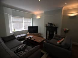 modern Living room by Progressive Design London