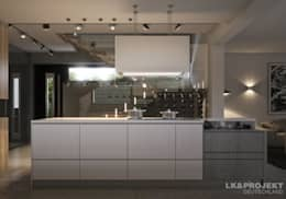 Cuisine de style de style Moderne par LK&Projekt GmbH