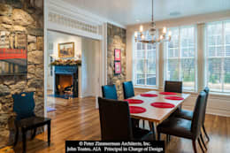 classic Dining room by John Toates Architecture and Design