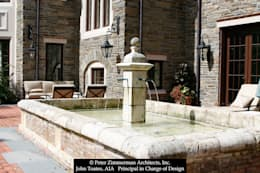 Fountain: classic Houses by John Toates Architecture and Design