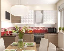minimalistic Kitchen by Мария Трифанова
