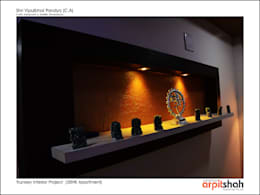 Vipul Pandya @ Indraprasth - 4, Prahladnagar:   by ARPIT SHAH PROJECTS OPC PVT LTD.