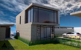 Casas de estilo moderno por Atahualpa 3D