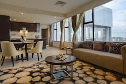ARK Reza Kabul Architects Pvt. Ltd.: modern tarz Oturma Odası