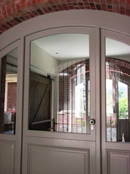 Arched Front Door + Side Lights :  Windows by Window + Door Store Cape