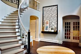 Cherry Hills Charmer:  Corridor & hallway by Andrea Schumacher Interiors
