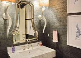 Cherry Hills Charmer: classic Bathroom by Andrea Schumacher Interiors