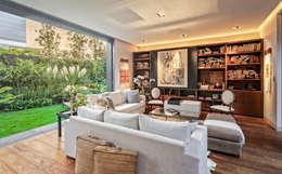 Гостиная в . Автор – Lopez Duplan Arquitectos