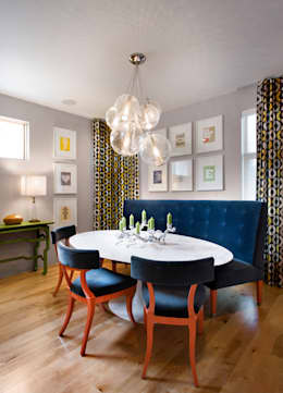 LoHi Private Residence: modern Dining room by Andrea Schumacher Interiors