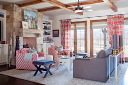classic Living room by Andrea Schumacher Interiors