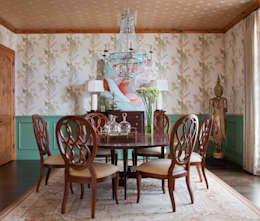 21st CenturyTraditional: classic Dining room by Andrea Schumacher Interiors