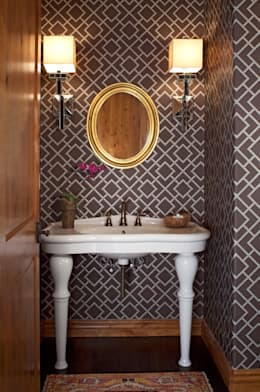 浴室 by Andrea Schumacher Interiors