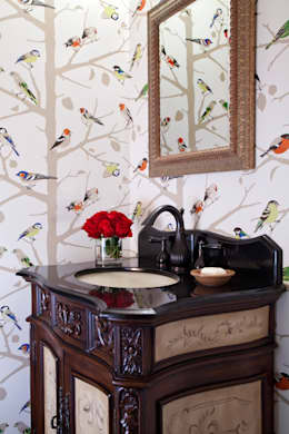 classic Bathroom by Andrea Schumacher Interiors