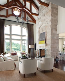 Buell Mansion Remix: classic Living room by Andrea Schumacher Interiors