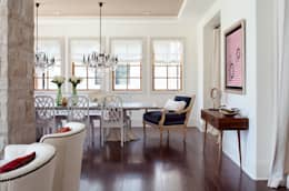 Buell Mansion Remix: classic Dining room by Andrea Schumacher Interiors