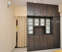 Residential Interior Project at Sarakki, Bangalore: modern Dining room by Kriyartive Interior Design