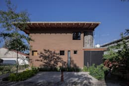 NIDO DE TIERRA: Casas de estilo rural por MORO TALLER DE ARQUITECTURA