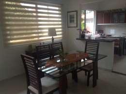 Casa Patricia R. - comedor: Comedores de estilo moderno por ARQUITECTOnico