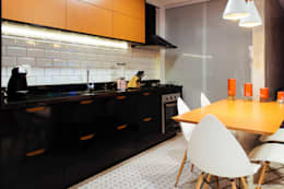 Cocinas de estilo industrial por 285 arquitetura e urbanismo