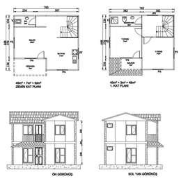 N voorafvervaardigde huis vir minder as r400 000 for Planimetrie rustiche