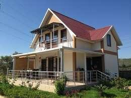 moderne Häuser von TUNA PREFABRİK