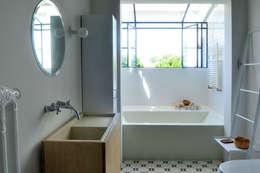 Projekty,  Łazienka zaprojektowane przez Paula Herrero | Arquitectura