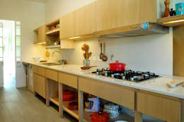 Casa SIRI · Paula Herrero | Arquitectura: Cocinas de estilo moderno por Paula Herrero | Arquitectura