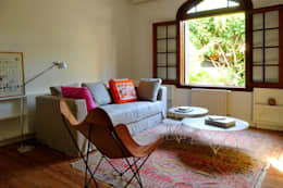 Casa SIRI · Paula Herrero | Arquitectura: Salas multimedia de estilo moderno por Paula Herrero | Arquitectura