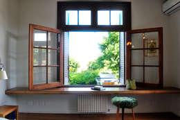Projekty,  Sypialnia zaprojektowane przez Paula Herrero | Arquitectura