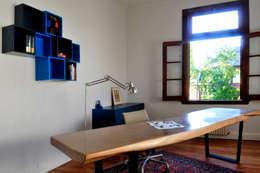 Projekty,  Domowe biuro i gabinet zaprojektowane przez Paula Herrero | Arquitectura