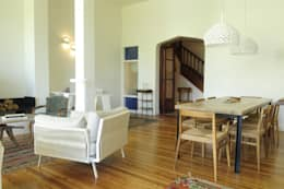 Casa SIRI · Paula Herrero | Arquitectura: Livings de estilo moderno por Paula Herrero | Arquitectura