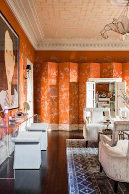 Maison de Luxe: asian Dressing room by Andrea Schumacher Interiors
