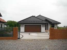 PROJEKT DOMU LOTE G2 - przytulna harmonia w nowoczesnym wydaniu : styl nowoczesne, w kategorii Domy zaprojektowany przez Pracownia Projektowa ARCHIPELAG