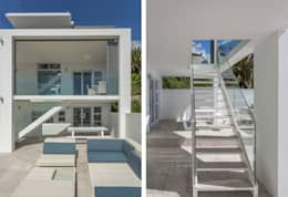 House Camps Bay - Babett Frehrking Architect:  Corridor & hallway by Babett Frehrking Architect