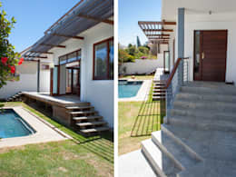 House Cape Town - Babett Frehrking Architect: classic Houses by Babett Frehrking Architect