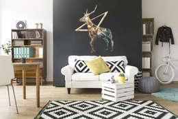 scandinavian Living room by BIMAGO.PL