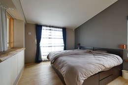 eclectic Bedroom by 池田デザイン室(一級建築士事務所)