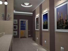 Corridor & hallway by АЛЕКСАНДР ЕЛАШИН. СТУДИЯ ДИЗАЙНА ЭЛИТНЫХ ИНТЕРЬЕРОВ.