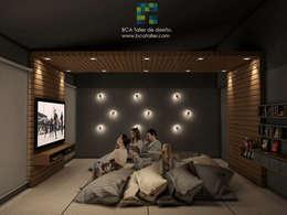 غرفة الميديا تنفيذ BCA taller de diseño