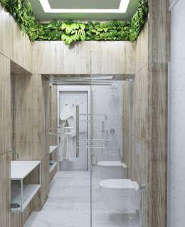 industrial Bathroom by Vashantsev Nik