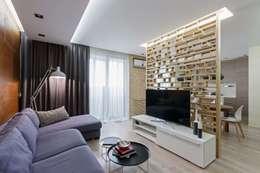 Salas de estilo moderno por EUGENE MESHCHERUK   |  architecture & interiors